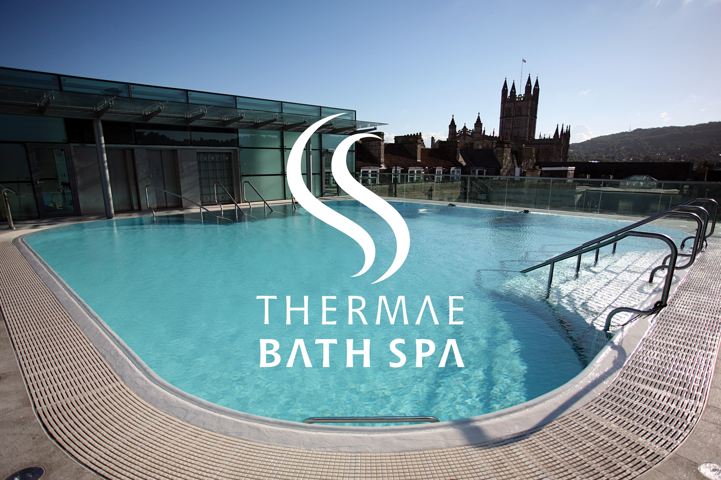 Thermae Bath Spa branding and signage — Mytton Williams